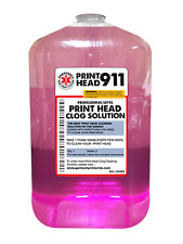 Printhead Cleaner Refill Bottle for Epson Printers Print Head 911 1 Gallon