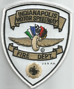 """Indianapolis  Motor Speedway, Indiana  (3.75"""" x 4.5"""" size)  fire patch"""