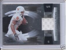 quan cosby rookie rc jersey patch texas longhorns 25/25