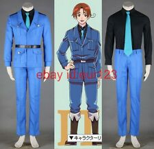 Axis Powers Hetalia-Feliciano North Italy,Uniform 3th Cosplay Costume Custom