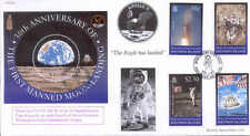 CC64 JSCC Apollo 11 NASA Space Moonlanding Solomon Is FDC