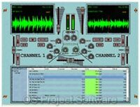 PRO DJ SOFTWARE FOR PC MIX MP3 ON YOUR COMPUTER MAC WIN FULL COMPLETE PROGRAM