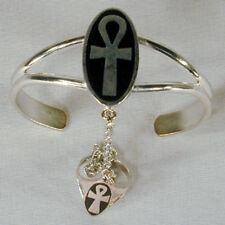 ANK CROSS SLAVE BRACELET #15 jewelry RING NEW anarchy silver women crosses