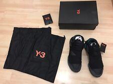 Adidas y-3 y3 Qasa High Noir Black bb4735 taille 42 uk8 us8, 5 NEUF