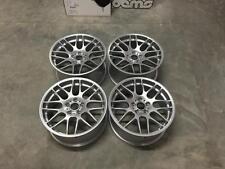 """19"""" Staggered CSL CONCAVE Style Wheels - Hyper Silver - BMW E90 E92 E46 M3 F10"""