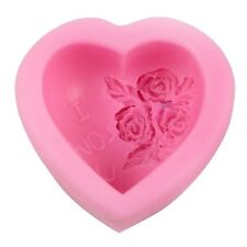 Heart I Love You Silicone Mold for Fondant, Gum Paste, Chocolate, Crafts