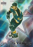 2001-02 Upper Deck Skilled Stars Hockey Cards Pick From List