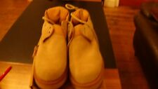 GEORGE COX TRUE VINTAGE ROCK 70 80  CREPE RUBBER CREEPERS UK 7 SHOE BOOT NEW