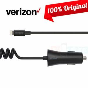 Original Verizon Car Charger for Apple iPhone 11 Pro/11/XS Max/XS/X/8/7/6/5/4S