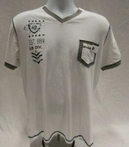 Men's XXL White Alberto Cardinal T-Shirt