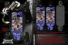 LOSI 5IVE-T CHASSIS WRAP DECAL KIT 'LUKCY' HOP UP SKID PLATE PROTECTION