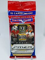 2020 Panini Prizm Football Cello Pack Brand New Factory Sealed