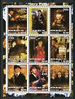 Harry Potter Stamps 2002 MNH Hermione Granger Hagrid Movies Film Owls 9v M/S