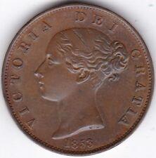 1853 Victoria Half-Penny***Collectors***Copper***AUNC***