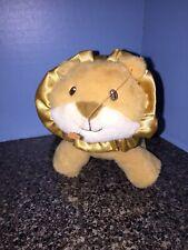 Baby Gund Lion Rattle Plush Toy