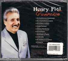 RARE salsa CD Henry Fiol GUAPERIA guapo fantoma DE LA MANO A LA BOCA linda india
