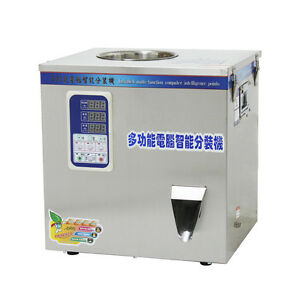 2-50g Tea or Herb filling machine with Spiral Feeding