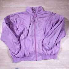 Vintage 80s/90s Shell Suit Tracksuit Top Jacket Festival Windbreaker XL #E2480