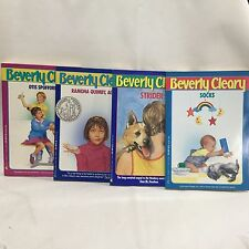 4 PC Lot Beverly Cleary Avon Children's Books Free Shipping Lot 10