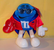 GALERIE M & M's BLUE CHARACTER SUNGLASSES ROBE ORIGINAL TAGS BLUE FOR YOU HEART