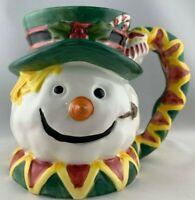 World Bazaars Christmas Snowman Coffee Mug