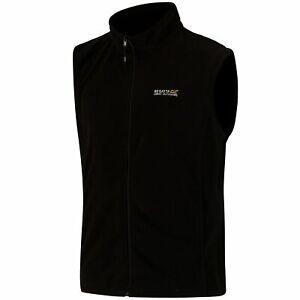 Regatta Mens Tobias Lightweight Micro Fleece Full Zip Bodywarmer Vest Gilet