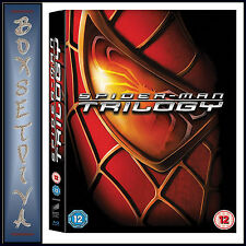 SPIDERMAN - TRILOGY 1 2 & 3 Boxset *BRAND NEW BLU-RAY*