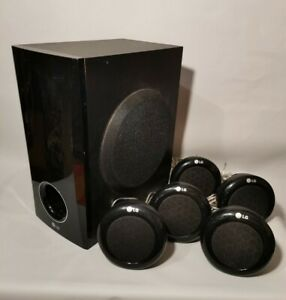 LG Surround Sound - Subwoofer SH36SD-W - 5x Speakers SH36SD-S