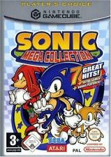 Sonic Mega Collection (Nintendo GameCube, 2003, DVD-Box)