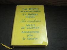 Jacques PERRET: la bête mahousse.Club du Meilleur Livre. ed n°tée