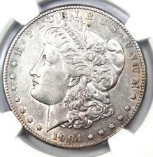 1904-S Morgan Silver Dollar $1 Coin - Certified NGC XF45 (EF45) - Near AU!