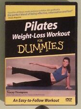PILATES WEIGHT LOSS WORKOUT FOR DUMMIES with tracey thompson   DVD