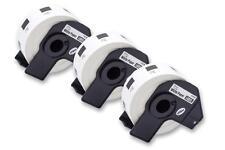 3x Rouleau Etiquettes Premium 24mm pour Brother DK-11218