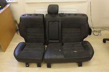 FORD MONDEO MK4 GREY HALF LEATHER INTERIOR REAR SEATS 2007-2014