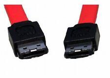 1m eSATA to eSATA 3GB Data Lead External Sata 2 Shielded Cable