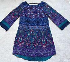 Lots of Love by Speechless Juniors Dress, Size Medium, Blue, 3/4 Sleeves, NWT!