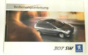 Peugeot 307 Handbuch 2006  Betriebsanleitung   Bedienungsanleitung