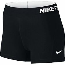 Nike Women Athletic Apparel Pro Cool 3 Inch Compression Shorts Black M