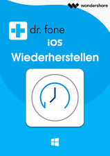 Wondershare Dr.Fone iOS WIN Datenwiederherstellung lifetime Download nur 64,99 !