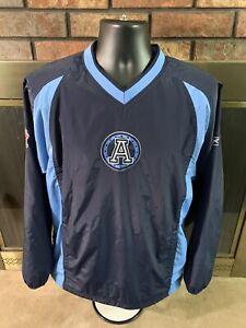 Reebok Toronto Argonauts CFL Football Sideline Jacket Mens Sz Small Canada Rare