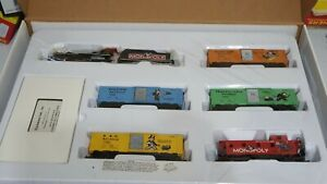 Bachmann HO Scale Collector's Edition Monopoly Train Set 01201