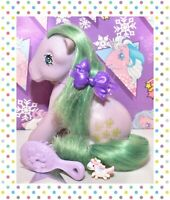 ❤️My Little Pony MLP G1 Vtg 1983 Italy Italian Seashell Sitting Pose NIRVANA❤️