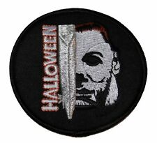 "Halloween Movie Face & Name 3"" Diameter Embroidered Patch"