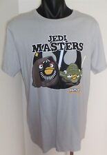 Angry Birds Star Wars Jedi Master Men's T-Shirt Size Large Brand New