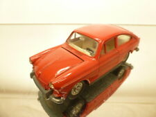 DINKY TOYS 163 VOLKSWAGEN VW 1600 TL - RED L10.0cm - GOOD CONDITION - 82