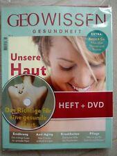 GEO Wissen Gesundheit Nr. 6 inkl. DVD - Unsere Haut