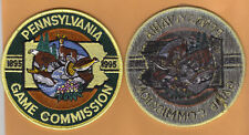 Pa Pennsylvania Game Commission 95 Black Back Triangle Version Centennial Patch