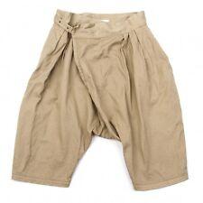 LIMI feu Dropped Cotton Crotch Pants Size S(K-42242)