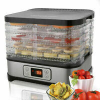 5-Tiers Electric Food Dehydrator Machine Beef Jerky,Fruits,Vegetables Dryer