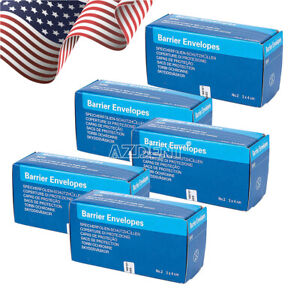 5Box Envelopes SIZE #2 for Intra Oral X-Ray ScanX Phosphor Storage Plates